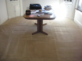 Lakeville Carpet Cleaning Dining Room